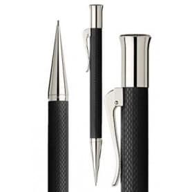 Portaminas Graf Von Faber-Castell Guilloche Negro