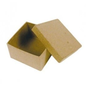 Mini Caja cuadrada Décopatch