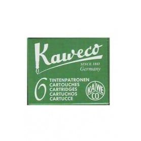 Cartucho tinta Kaweco Verde