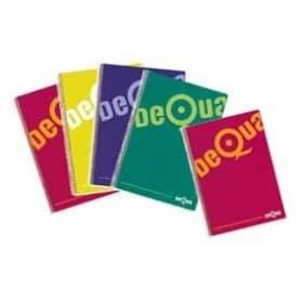 Cuaderno Folio Tapa Dura Colores Dequa