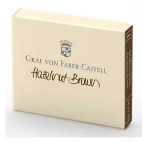 Cartuchos Graf Von Faber-Castell Hazelnut brown