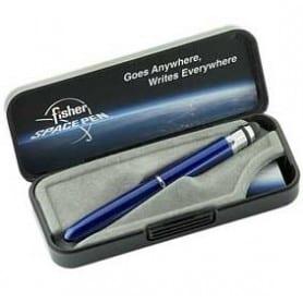 Bolígrafo Fisher Bull Grip con Stylus y clip Azul