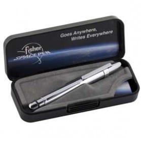 Bolígrafo Fisher Bull Grip con Stylus y clip Cromado
