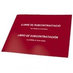 Libro de Subcontratación Catalán - Castellano
