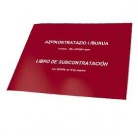 Libro de Subcontratación Euskera - Castellano
