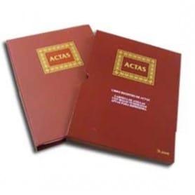 Libro de actas Hojas intercambiables