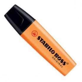 Rotulador fluorescente Stabilo Boss naranja