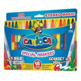 Rotuladores Carioca Magic Caja de 20 unidades