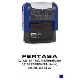 Sello automático Colop Printer 20 Tinta Azul