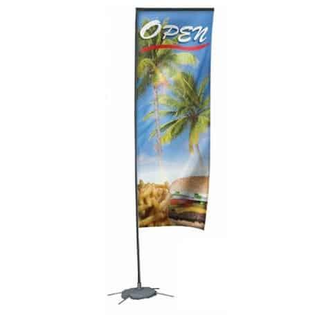 Beach Banner Orthez 500 cm Con gráfica