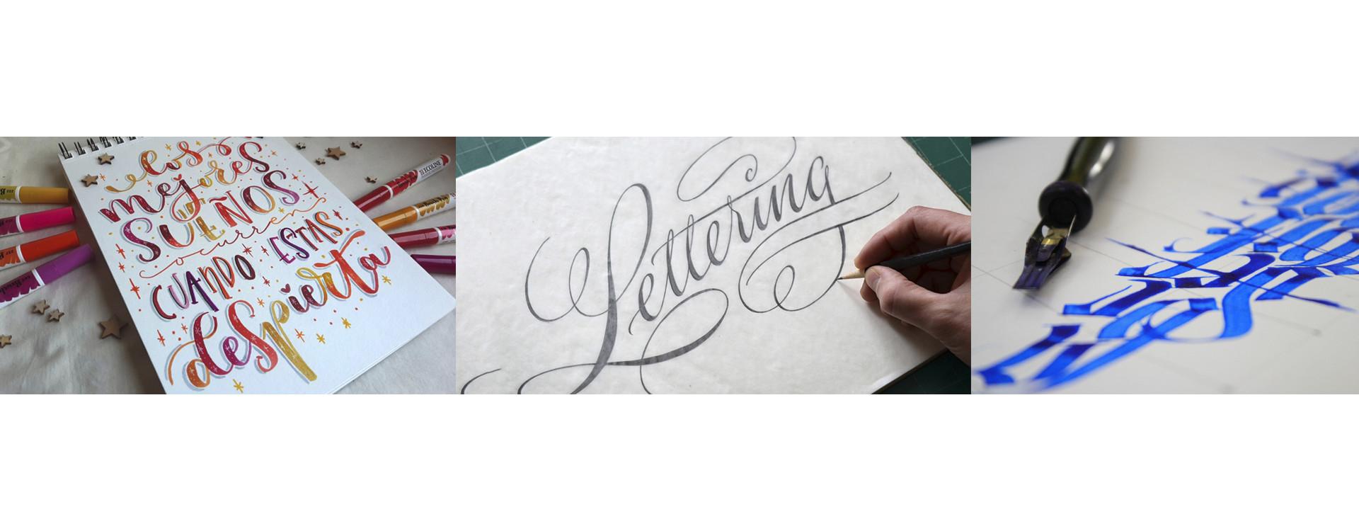 Lettering: escribir con estilo o dibujar letras con arte