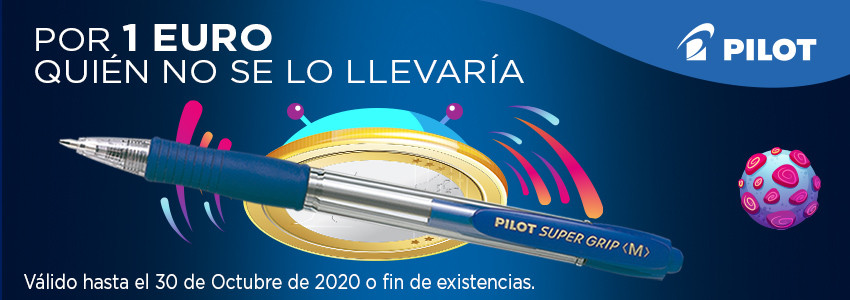 OFERTA BOLÍGRAFO PILOT SUPER GRIP