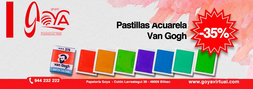 Oferta Acuarela Van Gogh Pastilla