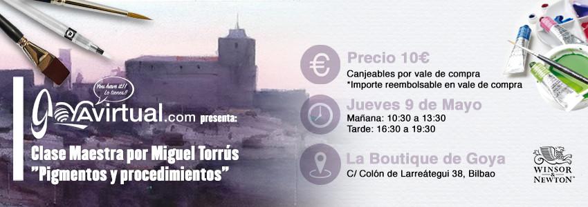 Master class Miguel Torrús